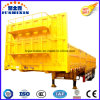 Enclosed Cargo Side Wall/Sidewall Semi Trailer with Gooseneck Exported to Australia