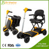 Foldable Removable and Adjustable Seat Width Lithium Battery 4 Wheel Electric Mobility Scooter
