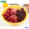 Easy Hanging Silicone Collapsible Fruit Basket for Washing and Serving