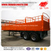 Drop Side Utility Cargo Trailer with 12 Wheels