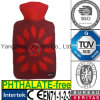 CE Embroidery Flower Hot Water Bottle Cover
