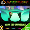 Plastic Color Change LED Furniture Restaurant LED Dinner Table