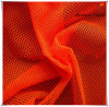 100% Polyester Fluorescent Mesh Fabric for Garment