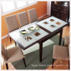 Modern Kitchen Room Furniture/Dining Room Table with Clear/Frosted/Printing Tempered Glass