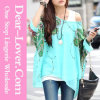 Casual Fashion Lady Long Sleeve Chiffon Shirt