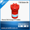T38-89mm Thread Button Bits for Drilling