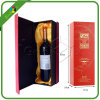 High End Wine Bottle Glass Display Box with Insert