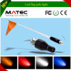 4′5′6′ Red Whips LED Light with Flag-Blue/Green 6′ Foot UTV SUV Antenna Whip Sand Car
