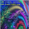 2*3 M P18cm LED Video Wall Vision Curtain with Programmable Controller+ Free Shipping