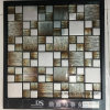 Brown Laminated Glass Mosaic Tile