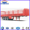 Hot Selling Tri-Axle 60tons Store House Bar Cattle Stake Semi Trailer for Sale