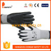 Ddsafety 2017 Grey Nylon with Black Nitrile Gloves