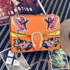 Butterfly Design Embroidery Lady′s Handbag Fashion Crossbody Shoulder Bag with Chain Sy8496
