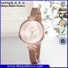 Custom Logo Watch ODM Business Alloy Leather Watch (WY-135C)