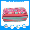 New Design Stripe Printed Microfiber Cosmetic Bag for Brush Make up Tools
