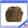 Fashion Leisure Casual Canvas Backpack for Men and Traveling