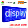 "P13 15′′x 40"" Full Color Programmable LED Sign Text Scrolling Message Board"