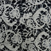 Cotton Water Soluble Floral Patten Cotton Lace Fabric (L5124)