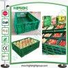 Hyper Market Black Folding Stacking Vegetable Crate