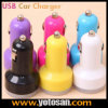 Portable Dual USB Car Charger for USB Devices