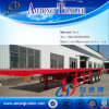 3 Axle Container Transport Flatbed Semi Trailer