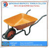 Metal Tray Solid Wheel Wheelbarrow