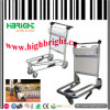 Aluminum Alloy Airport Baggage Trolley with Hand Brake
