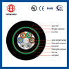 Outdoor Armored Fiber Optic Cable 2 Core GYTY53 for Telecommunication