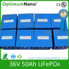36V 50ah LiFePO4 Battery Pack for UPS Light E-Motorcycle