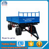 Farm Four Wheel Tractor Trailed Farm Trailer Double Axle Heavy Duty Farm Trailer