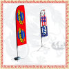 Fiberglass Flag Pole Feather Banner Flag