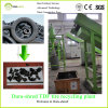Dura-Shred Ready-Made Recycling Plant for Used Tire (output size: 75mm)