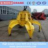 China High Quality Electric Hydraulic Orange-Peel Steel Scrap Grab