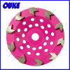 Cup Shaped Arrow Segmented Diamond Grinding Cup Wheel