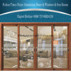 Double Glazing Decorative Aluminium Sliding Doors