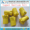 7 Buttons 7&11&12 Degree Taper Rock Drill Rod Parts Button Bits
