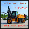 Cpcy35 All Terrain Forklift with CE for Sale