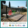 Colourful D or W Section Pale Garden Palisade Fence