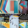 2017 Hot Sale Handball Plastic Sport Flooring