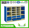 Kindergarten Furniture Wood Child Storage Cabinet Tray Cubbies (SF-119C)