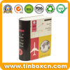 Custom Book Shape Metal Tin Box for Photographs Storage Container