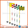 High Quality Colorful with Logo Outdoor Colorful Golf Flags