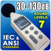 Digital Sound Level Meter with RS232 (SL-834)