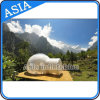 Hot Half Transparent Inflatable Bubble Tent with Tunnel for Camping