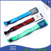 Festival Fabric 16mm RFID Woven Wristband with Slide Lock
