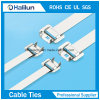 Metallic Steel Material Cable Tie with Releasable Type