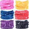 Promotional Custom Outdoor Microfiber Headwear Multifunctional Bandanas Headwear Scarf