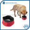 Pet Oxford Cloth Waterproof Portable Collapsible Travel Bowl for Dog