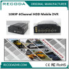 4CH Mobile DVR with 4G/3G, WiFi, GPS Function Support 1080P Resolution