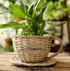 (BC-WF1027) Eco-Friendly Handmade Natural Willow Flower Basket